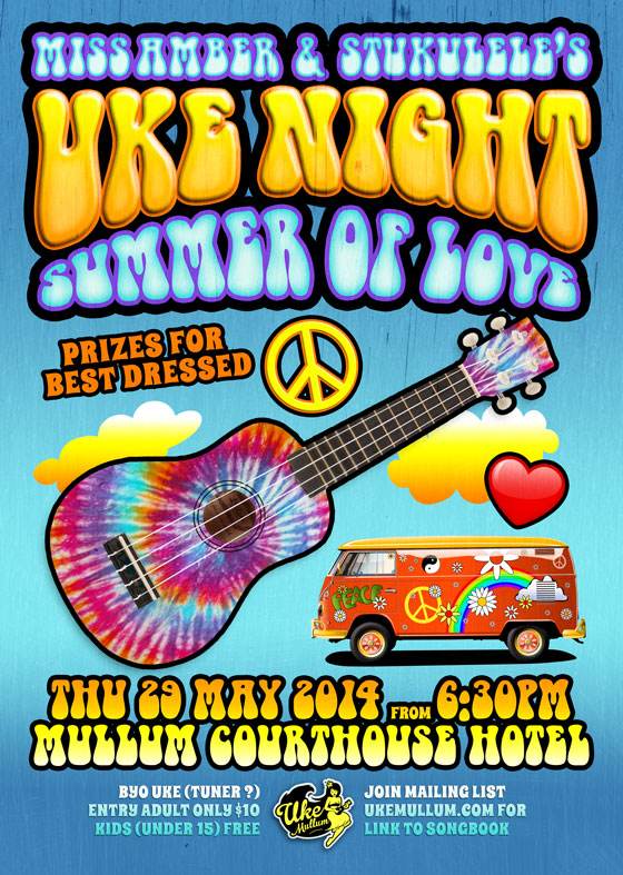 Uke Mullum's Summer Of Love May 2014