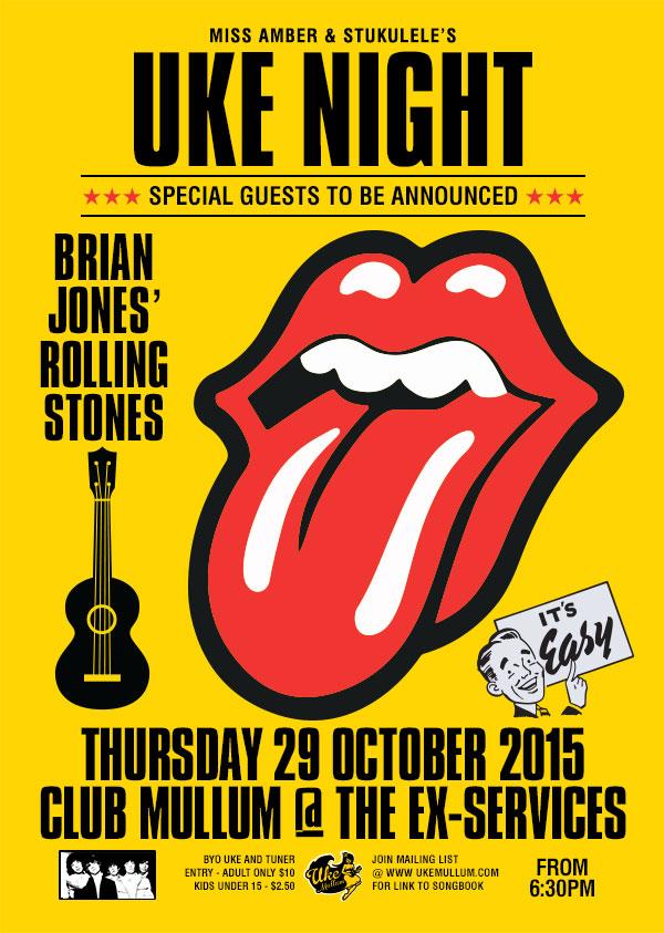 Brian Jones' Rolling Stones UKE NIGHT