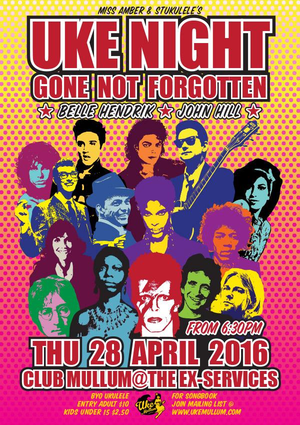 April 2016 Gone Not Forgotten