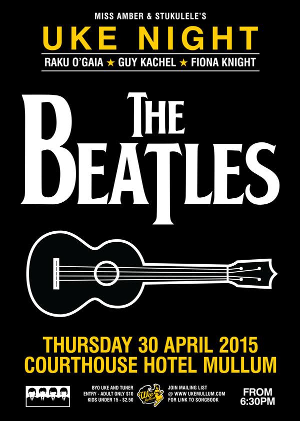 Beatles Uke Night