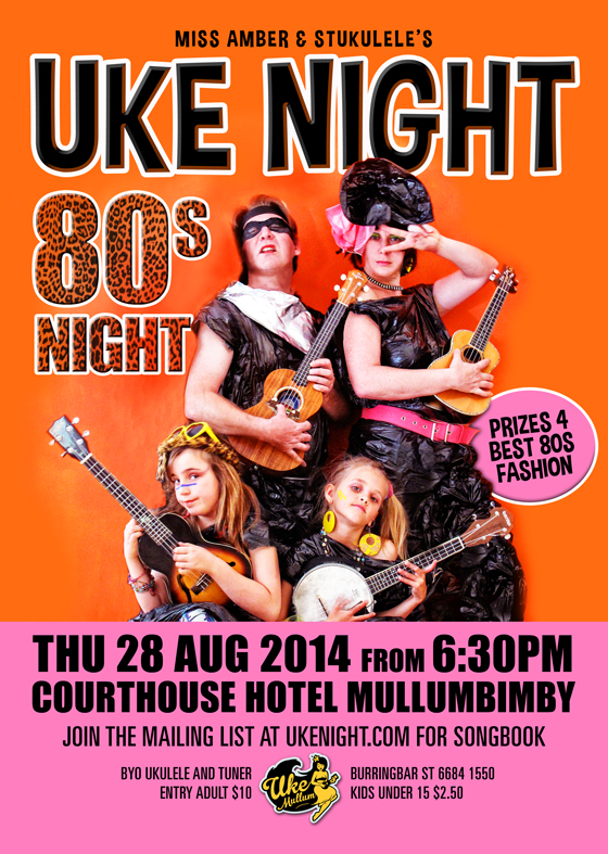 80s Uke Night