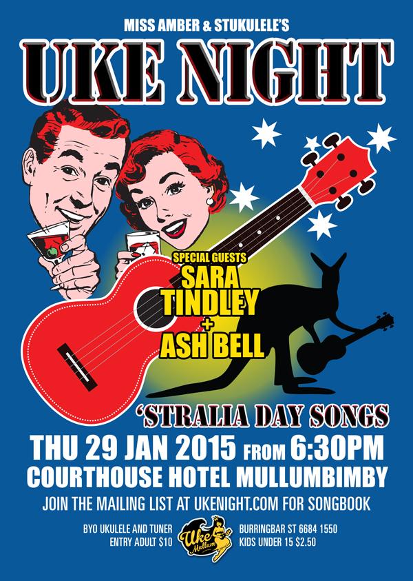 January 2015 Uke Night - Australia Day Songs