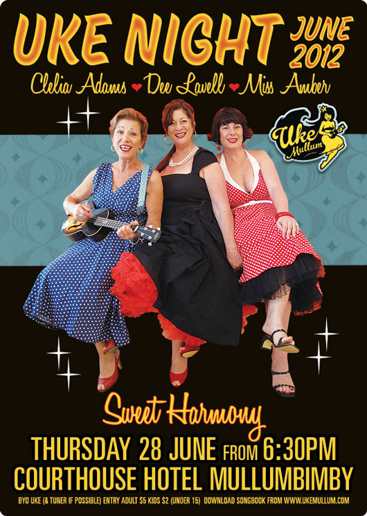 Sweet Harmony with Clelia Adams, Dee Lavell and Miss Amber.