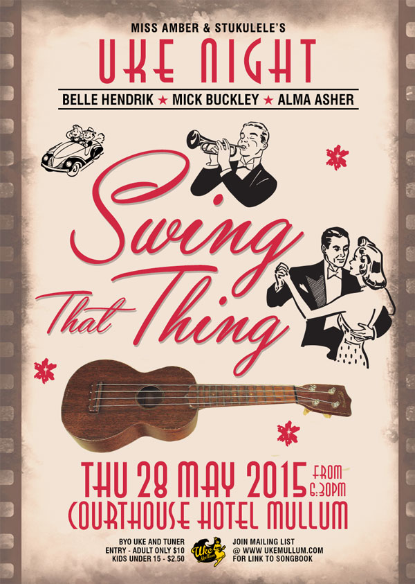 Swing That Thing – May Uke Night