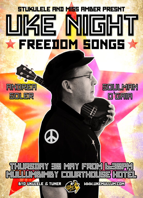 FREEDOM SONGS Thur 30 May