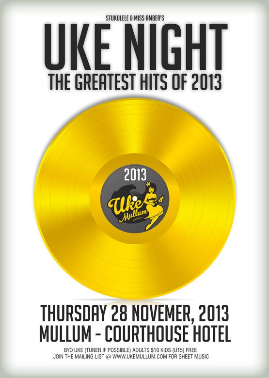 Uke Mullum Nov 2013 - The Greatest Hits
