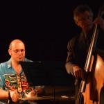 Mighty rhythm section: Jason Caspen and Rod Coe