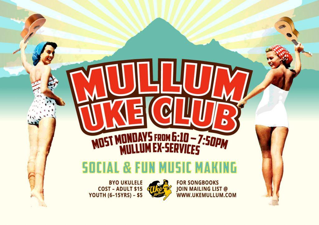 ukulele lessons at Mullum Uke Club
